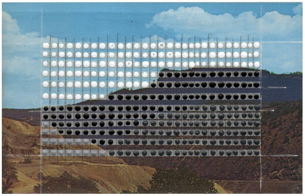 Borrowed Landscapes Study No.77/New Mexico, Santa Rita, The Kneeling Nun