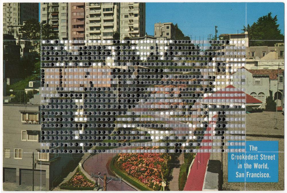 Borrowed Landscapes Study No.85/California, San Francisco, Crookedest Street