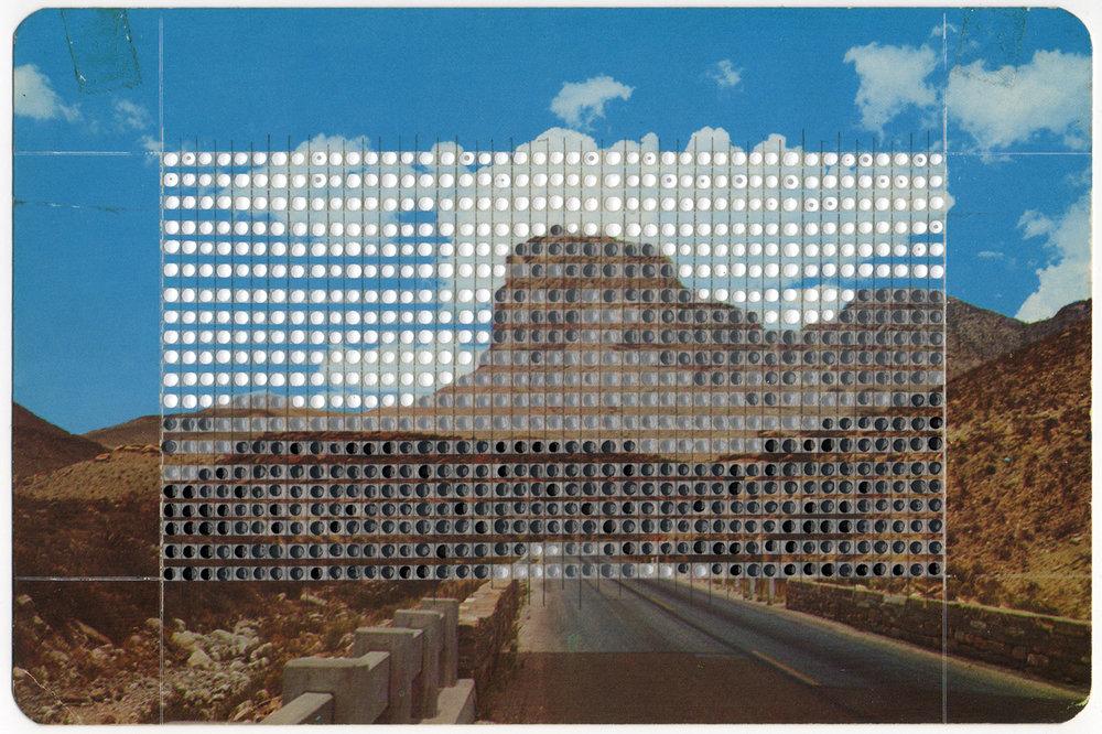Borrowed Landscapes Study No.88/Texas, Guadalupe Peak