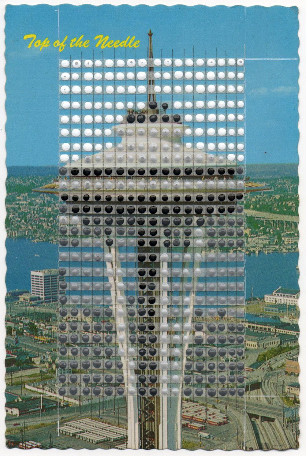 Borrowed Landscapes Study No.89/Washington, Seattle Space Needle