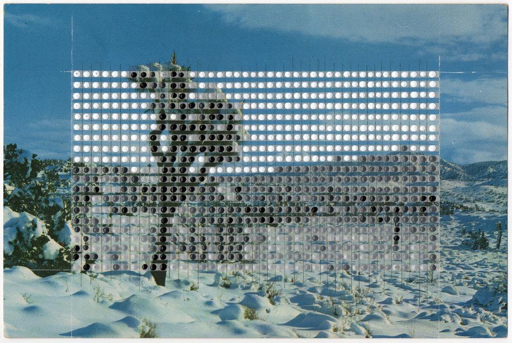Borrowed Landscapes Study No.92/California, Western Desert in Snow