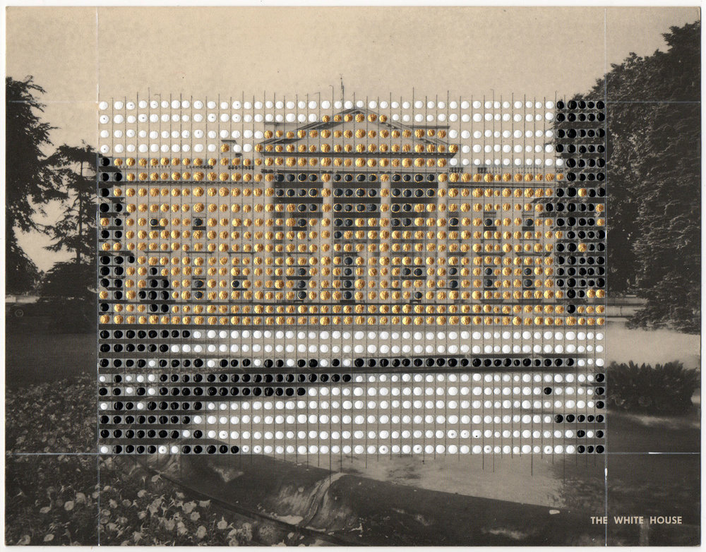 Borrowed Landscapes Study No.100/Washington DC, The White House