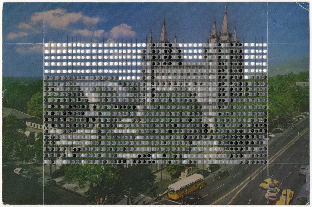 Borrowed Landscapes Study No.98/Utah, Salt Lake City, Temple Square