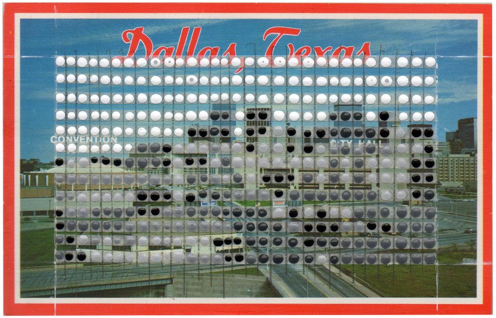 Borrowed Landscapes Study No.24/Texas, Dallas Skyline Day