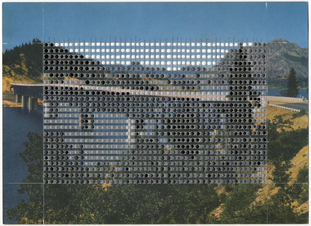 Borrowed Landscapes Study No.95/ California, Mount Shasta, Pit River Bridge