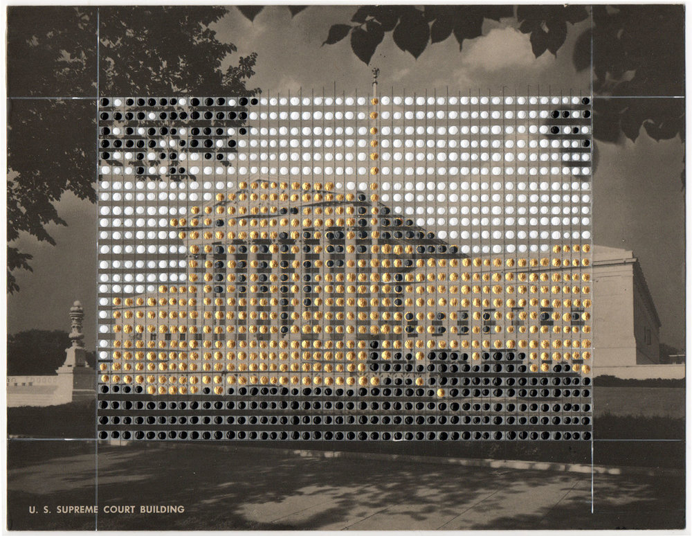 Borrowed Landscapes Study No.87/ Washington DC, The Supreme Court