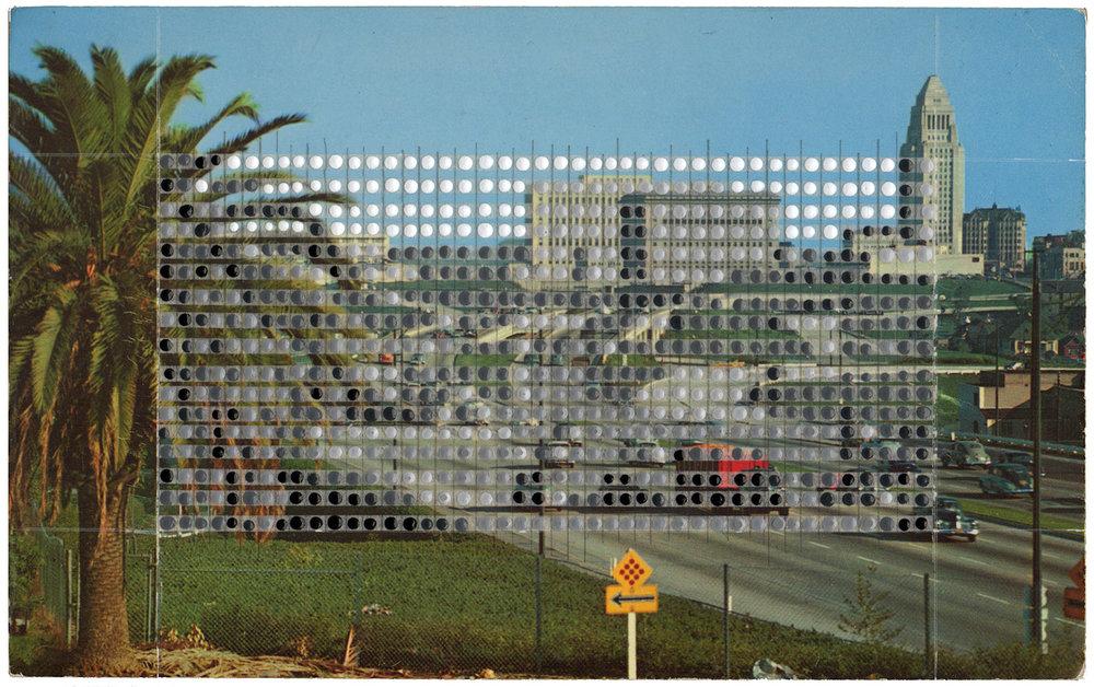 Borrowed Landscapes Study No.114/California, Hollywood Freeway