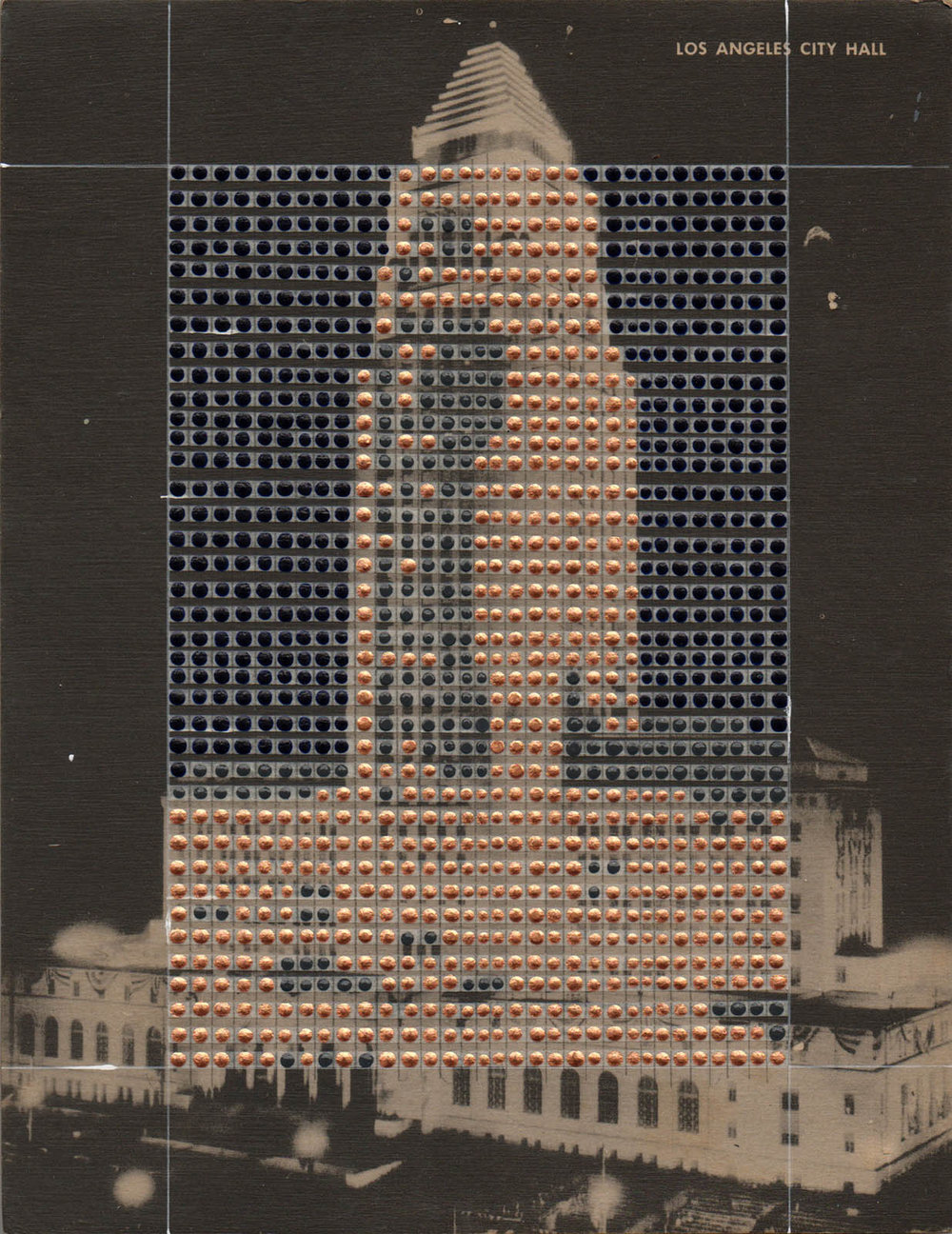 Borrowed Landscapes Study No.128 /California, Los Angeles City Hall