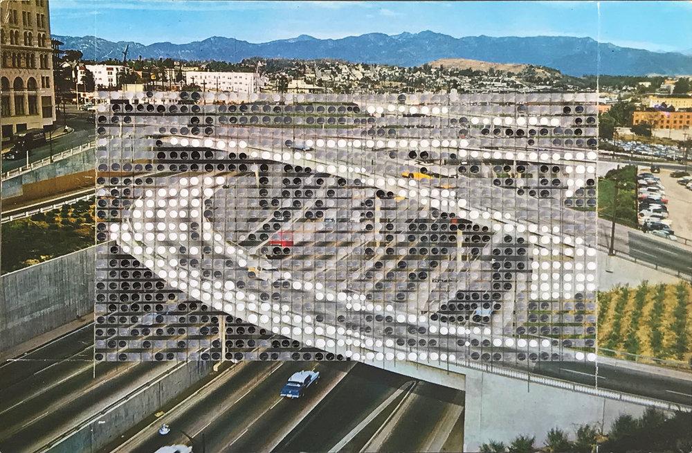 Borrowed Landscapes Study No.118 /California, Los Angeles Harbor Freeway