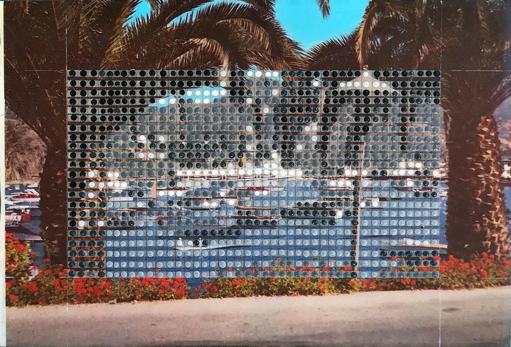 Borrowed Landscapes Study No.117 /California, Santa Catalina Harbor