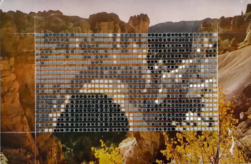 Borrowed Landscapes Study No.105/Utah, Natural Bridge at Bryce Canyon / Private collection