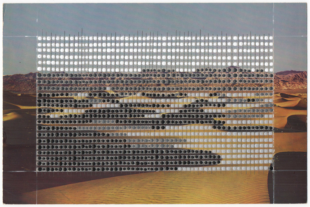 Borrowed Landscapes Study No.115 /California, Death Valley Sand Dunes #2