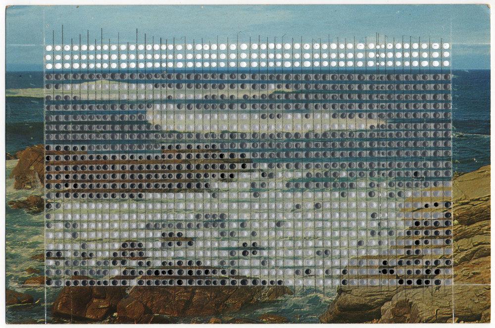 Borrowed Landscapes Study No.136 /Atlantic Coast, Battle of the Tides