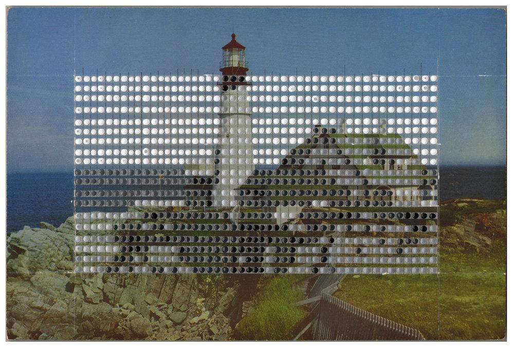 Borrowed Landscapes Study No.131 /Maine, Portland Head Light