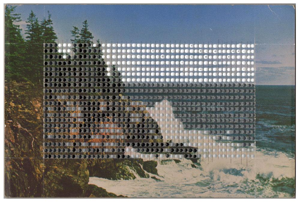 Borrowed Landscapes Study No.130 /Maine, Bar Harbor Otter Cliff
