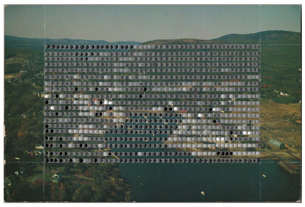 Borrowed Landscapes Study No.135 / Maine, Camden, Harbor & Megunticook Lake