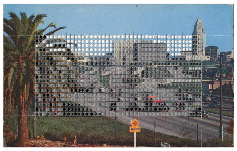 Borrowed Landscapes Study No.119/California, Hollywood Freeway #2