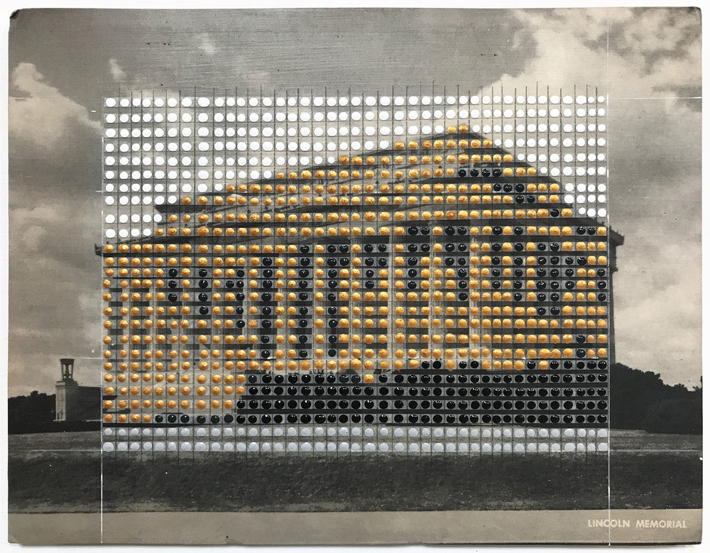 Borrowed Landscapes Study No. 139/Washington DC, Lincoln Memorial #2