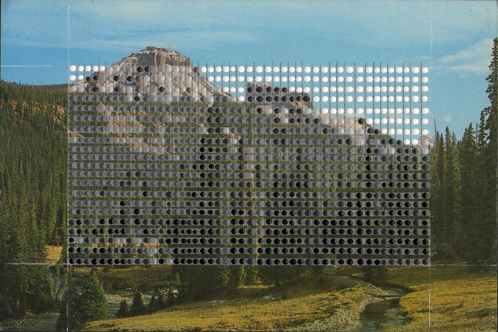 Borrowed Landscapes Study No. 144/Colorado, Precipice Peak / Private collection