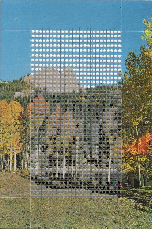 Borrowed Landscapes Study No. 142/Colorado, Buckhorn Lakes