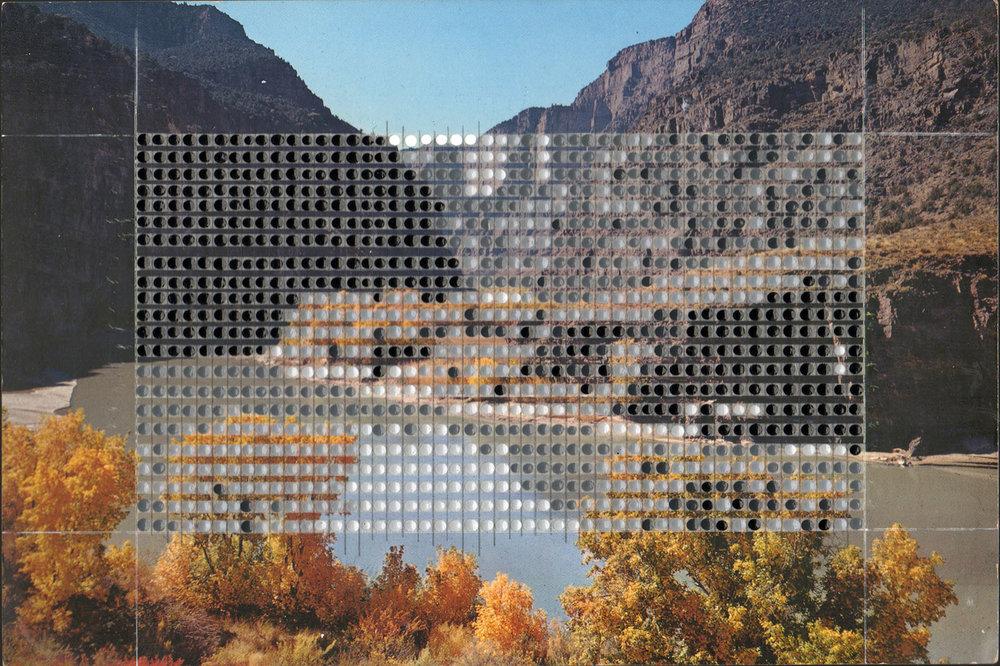 Borrowed Landscapes Study No. 143/Colorado, Green River at Gates of Lodore / Private collection