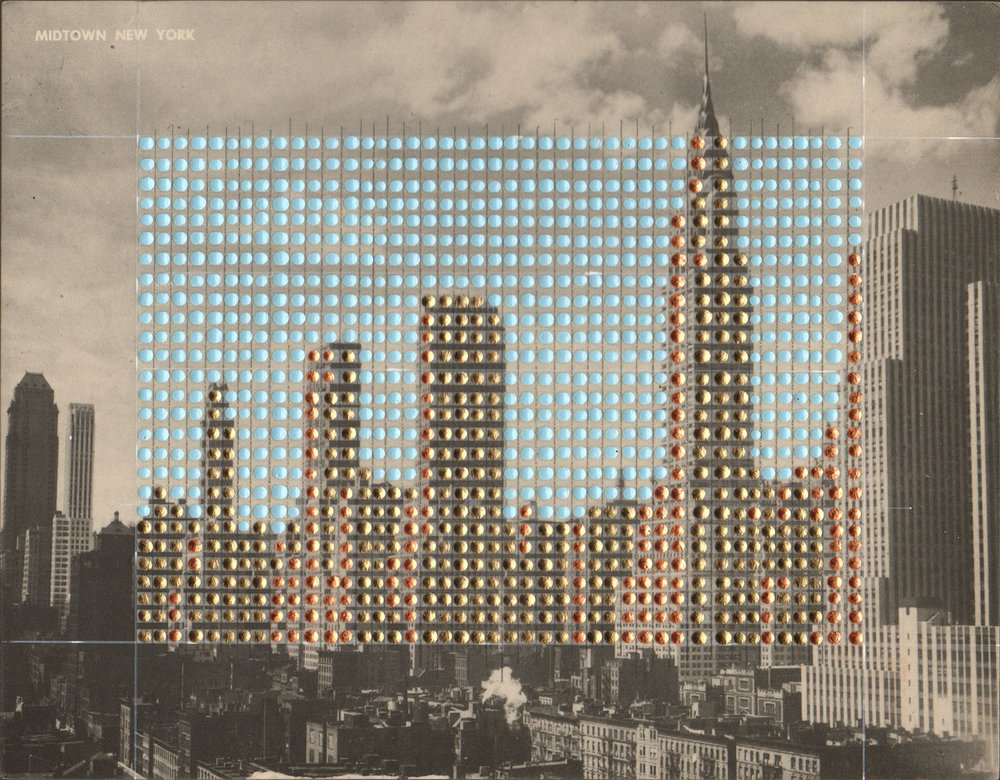 Borrowed Landscapes Study No. 141/New York, Manhattan, Midtown New York #2