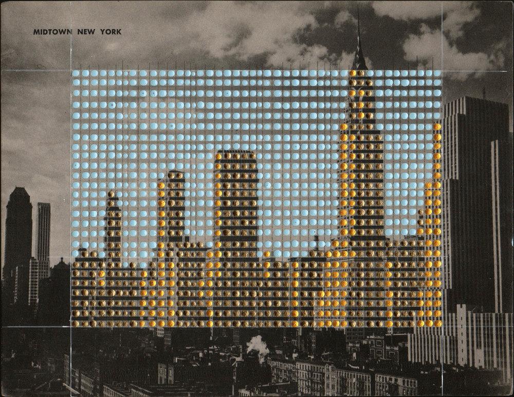 Borrowed Landscapes Study No. 155/New York, Manhattan, Midtown New York #3
