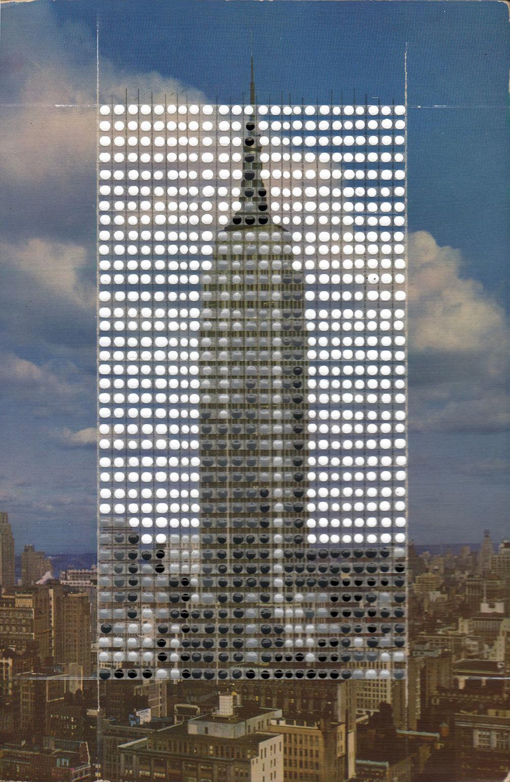 Borrowed Landscapes Study No. 154/New York, Manhattan, Empire State Building
