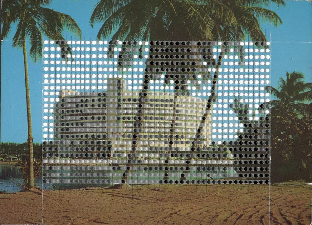 Borrowed Landscapes Study No. 150/FL, Miami Beach, Fontainebleau Hotel