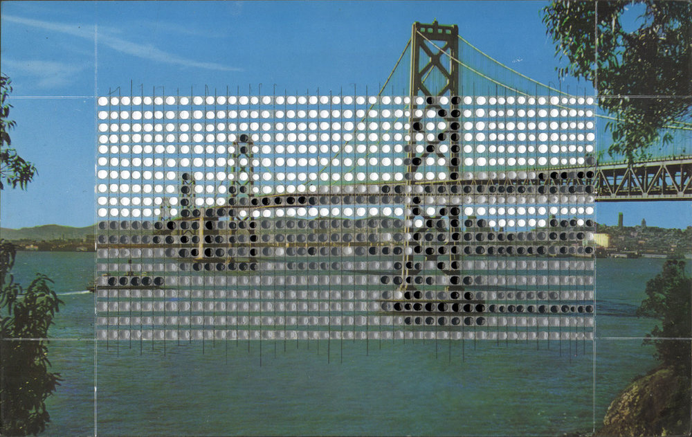 Borrowed Landscapes Study No. 148/Oakland Bay Bridge #2