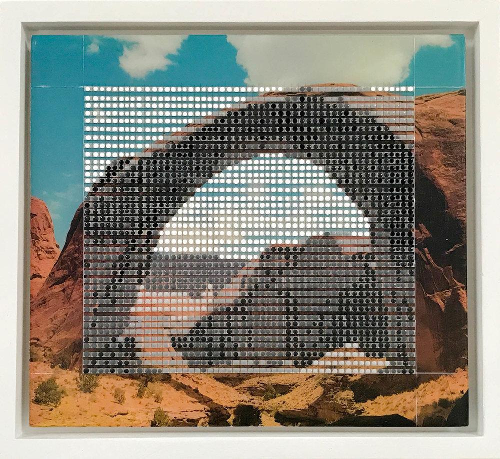 "Rainbow Bridge, Monument Valley, AZ / Borrowed Landscape No. 6 / 2017 / 9""h x 10""w"
