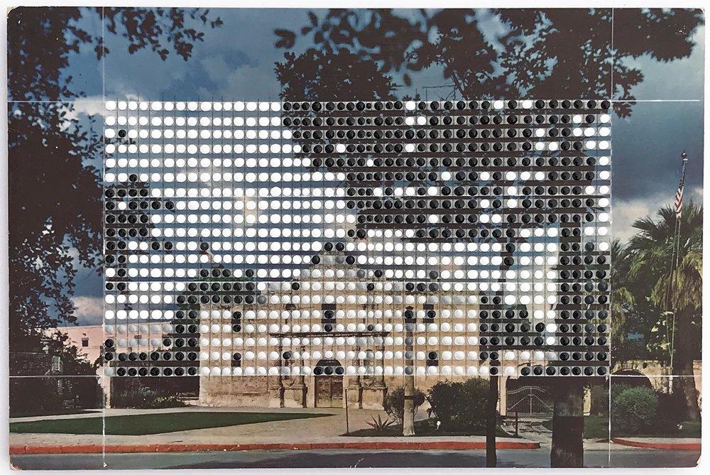 Borrowed Landscapes Study No.164/Texas, San Antonio, The Alamo #2
