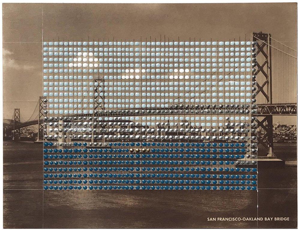 Borrowed Landscapes Study No.165/California, Oakland, Bay Bridge #2