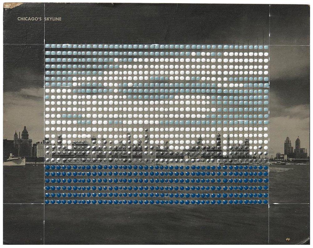 Borrowed Landscapes Study No.166/ IL, Chicago Skyline