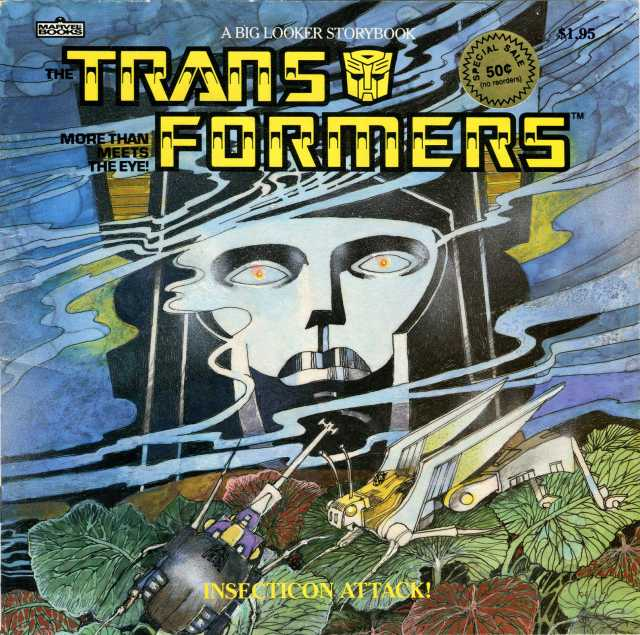 This is the children's book Caleb was talking about, part of the Transformers series by Big Looker.