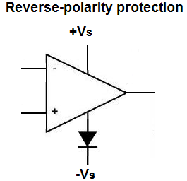 We inverted polarities!  http://tvtropes.org/pmwiki/pmwiki.php/Main/ReversePolarity