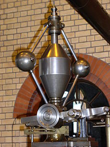 A steam engine governor. BALLS TO THE WALL!!!