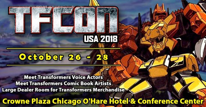 Come see us at TFCON! We will have 55 minutes at the con where we will do...something!  https://www.tfcon.com/guests