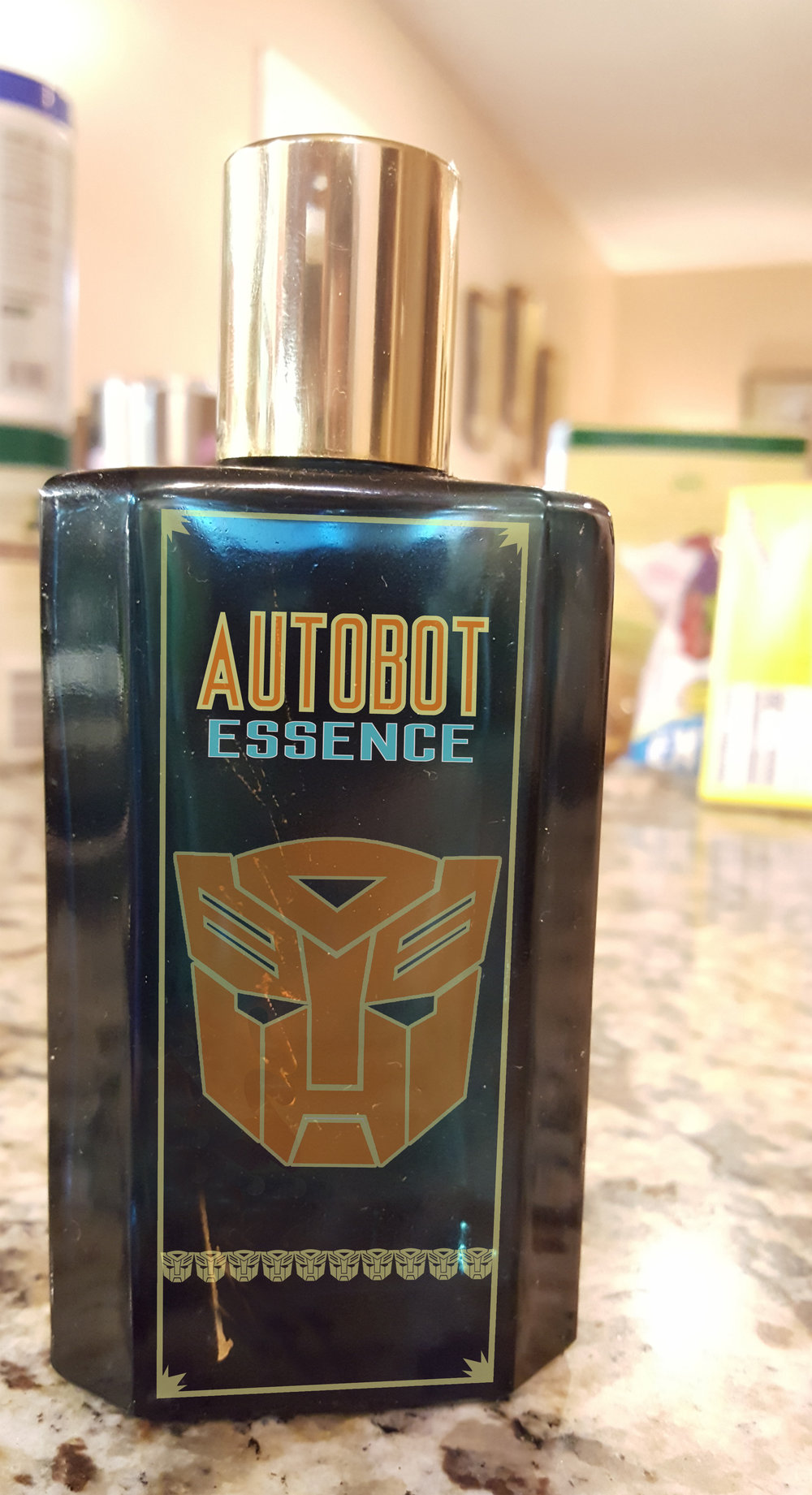 """I took a bath in Matrix energy…and then I…my skin is so much softer…and then I exfoliated with Autobot Essence…whatever."""