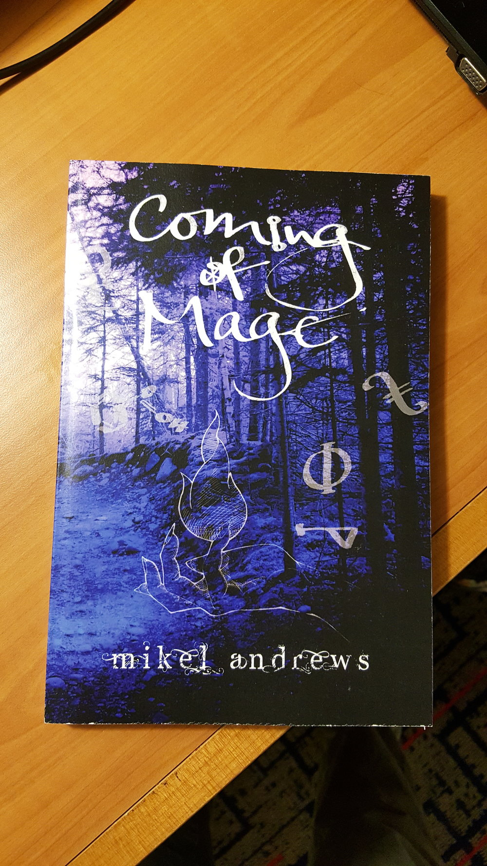 Friend of the show    Mikel Andrews    wrote a book!    Check it out   !