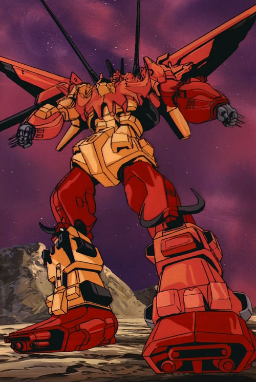 The animation in this episode is really good, but, c'mon, this is the best/worst illustration of Predaking ever.