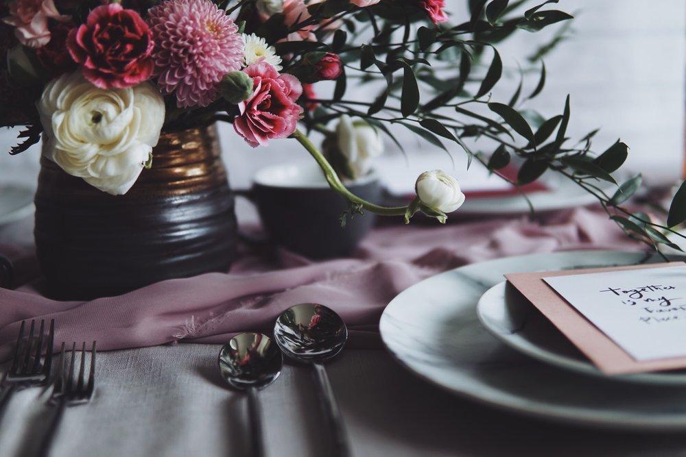 Romantic Moody Valentine's Day Decor Inspiration