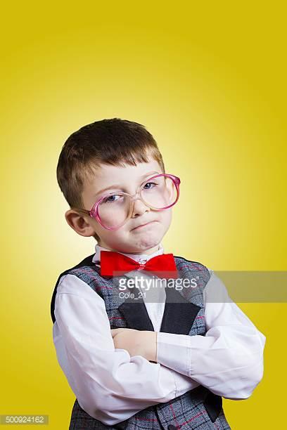 nerdy boy