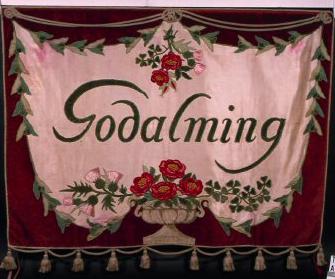 Jekyll designed Godalming Branch banner