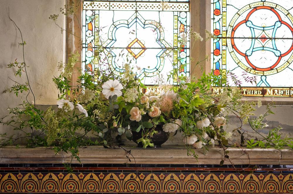 Image - Brigitte Girling Dorothea & Paul Church urn