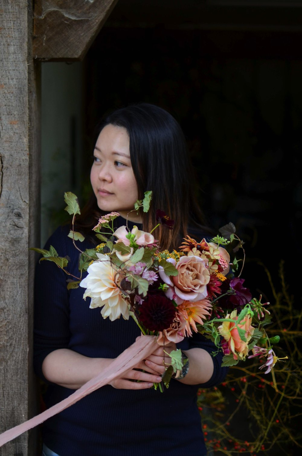 Florals - Iris Cheung at a Moss & Stone 1:1 Workshop | Image - Brigitte Girling
