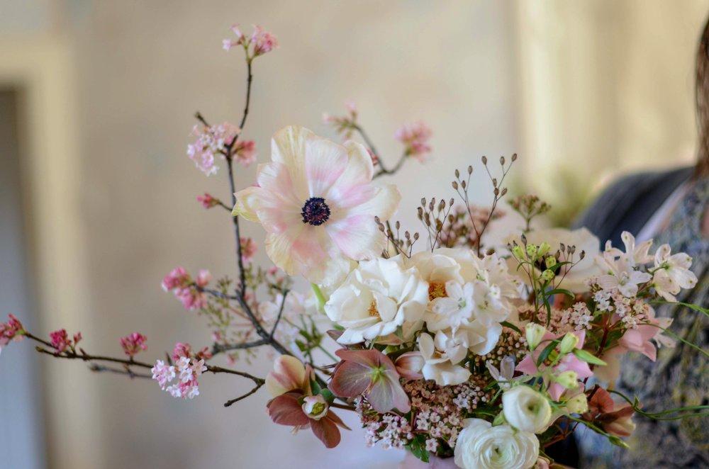 Florals - Alluring Blooms at Moss & Stone 1:1 Workshop | Image - Brigitte Girling
