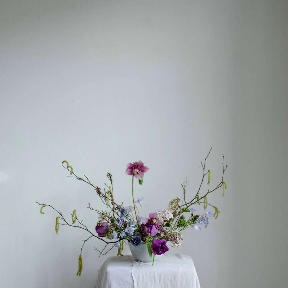 Florals - Alluring Blooms at Moss & Stone 1:1 Class | Image - Brigitte Girling