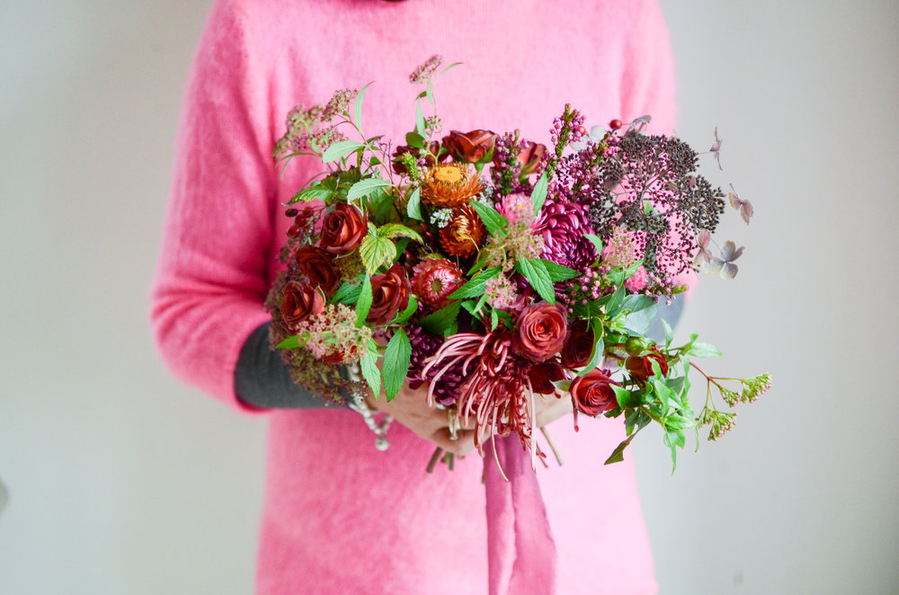Florals - Flavia at Moss & Stone 1:2 Class | Image - Brigitte Girling