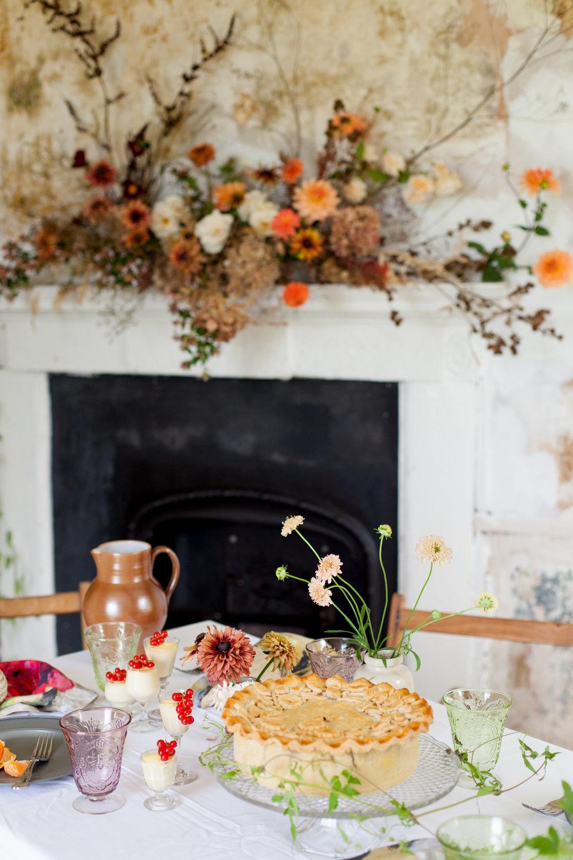 Moss & Stone Simply by Arrangement Helen Warner Photography